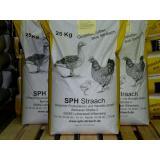 Geflügelfutter Pelletsform  25 kg Sack