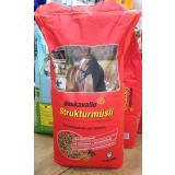 Deukavallo Strukturmüsli Pferdefutter 15kg für Freizeitpferde und Seniorenpferde
